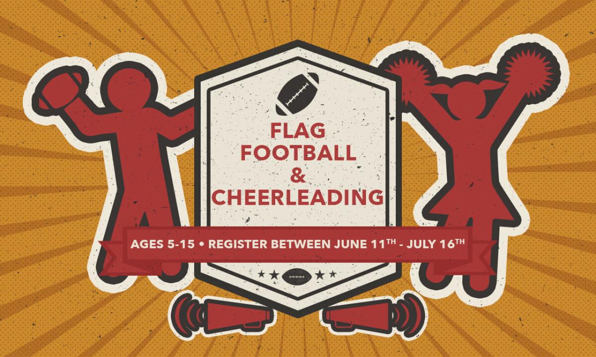 Kids' Flag Football & Cheerleading Registration