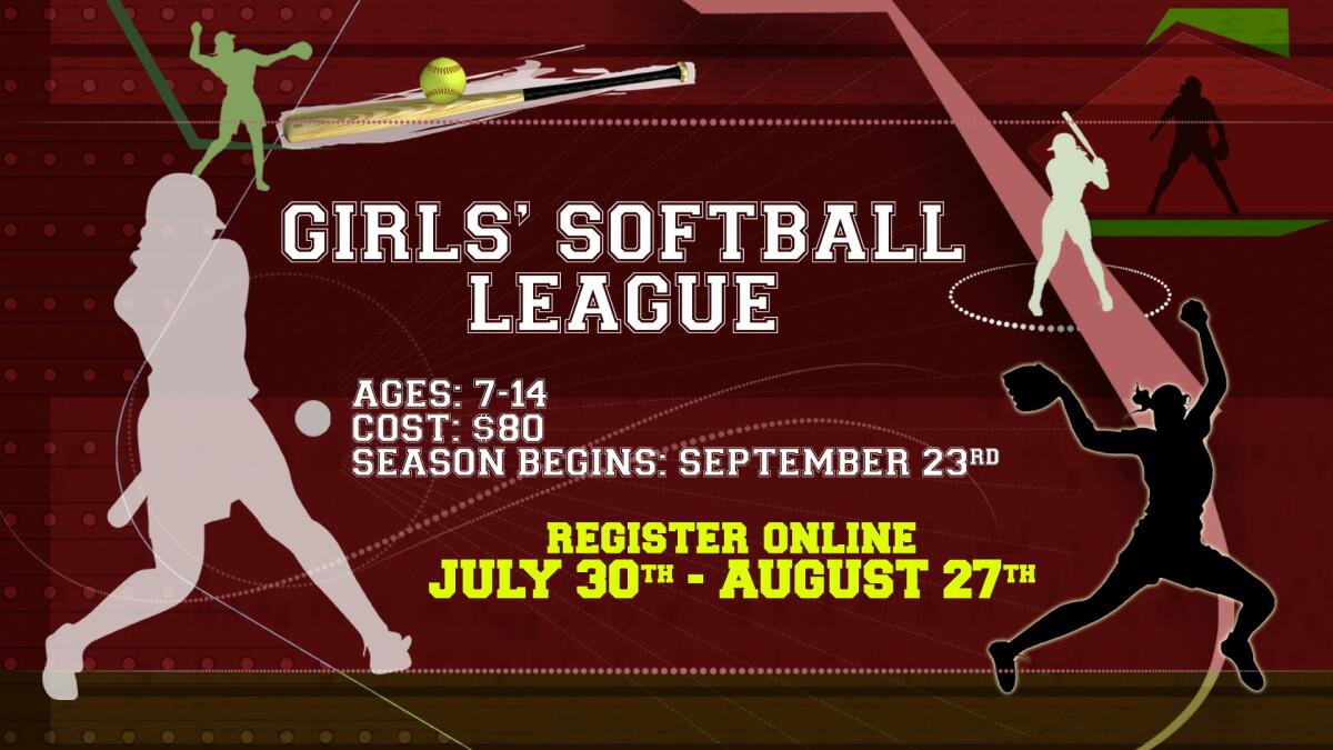 Girls' Softball Registration