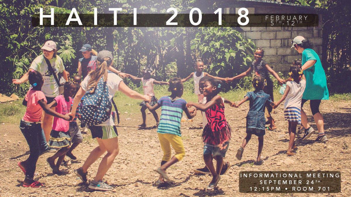 2018 Haiti Mission Trip Meeting