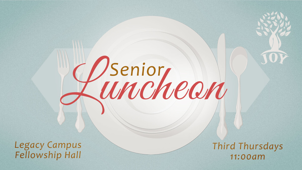 JOY Senior Luncheon