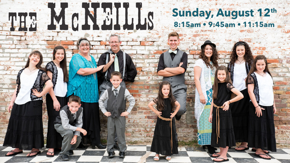 The McNeills - Leading Worship