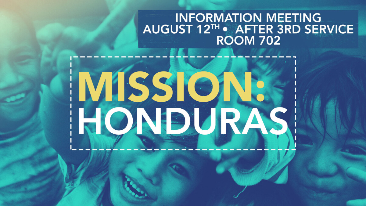 Honduras Trip Information Meeting