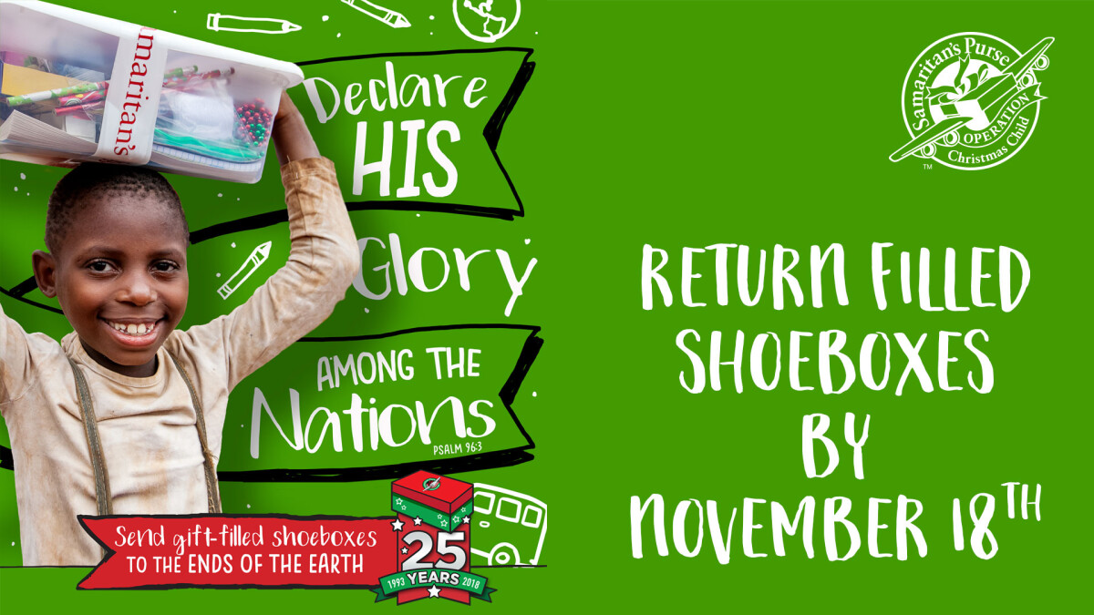 Operation Christmas Child Shoebox Collection