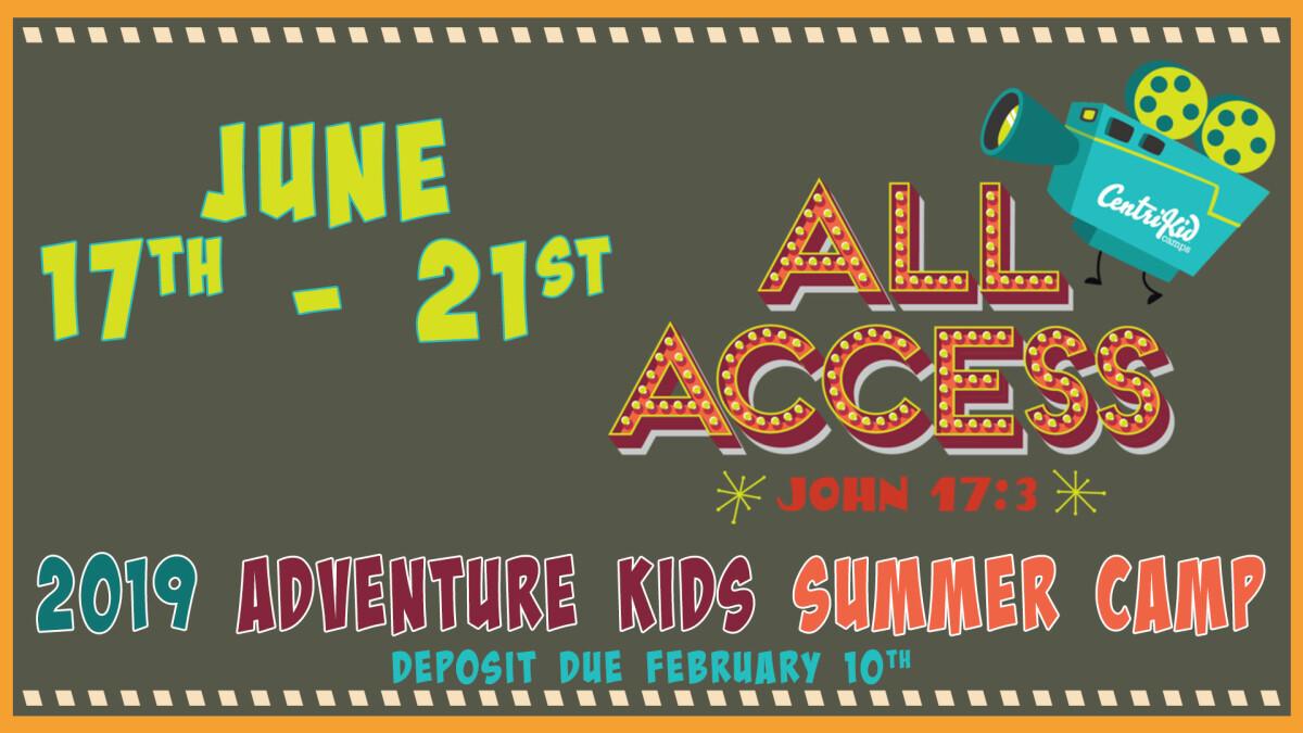 Kids' Summer Camp Registration