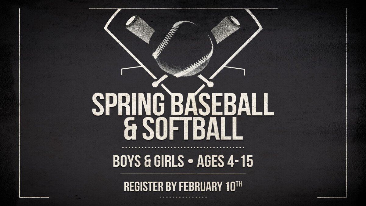 Kids' Baseball/Softball Registration