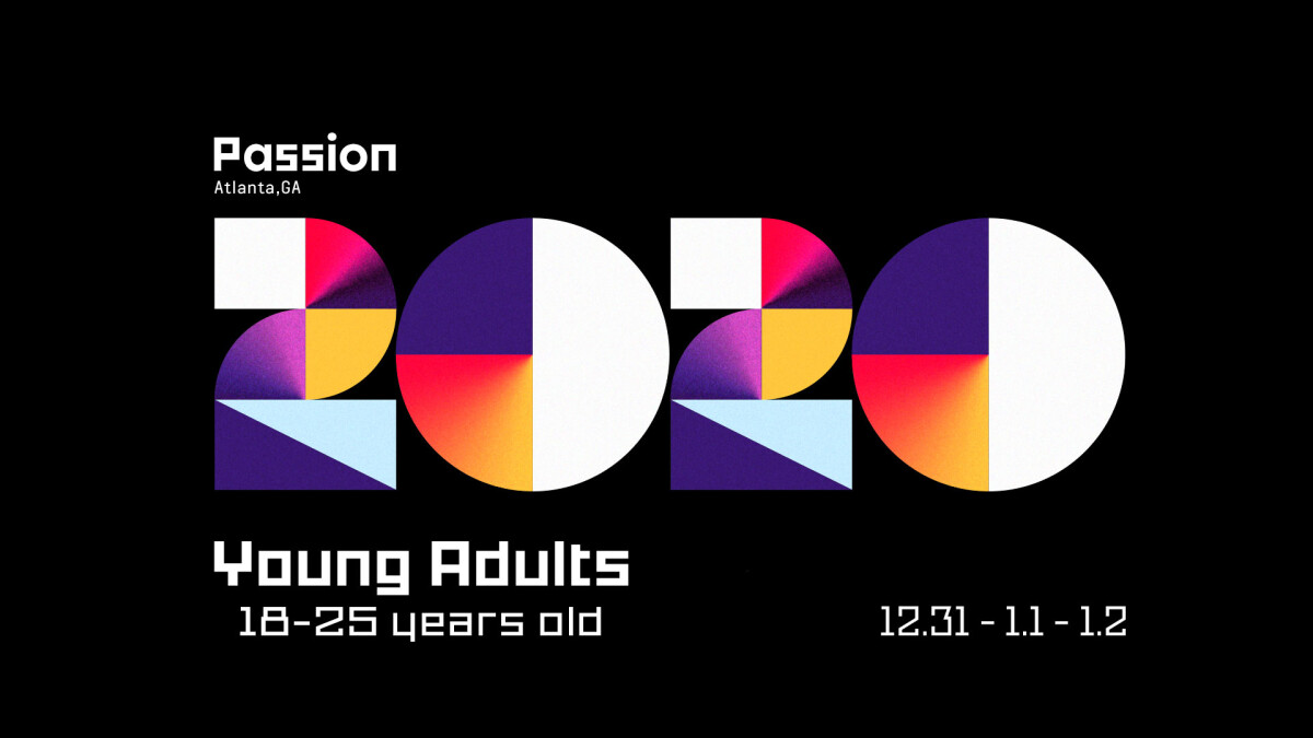 Passion Conference 2020 - Registration