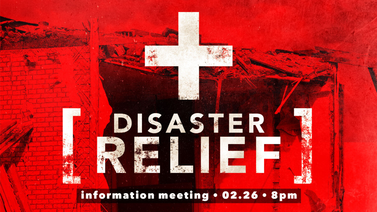 Disaster Relief Meeting