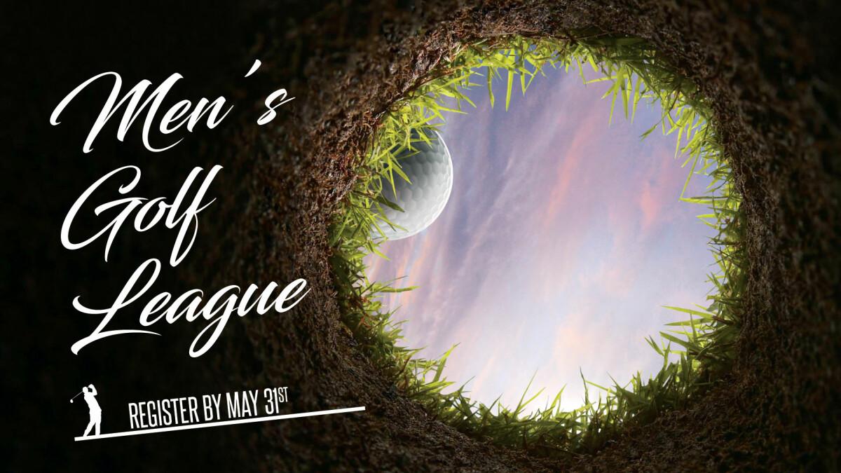 Men's Golf League Registration