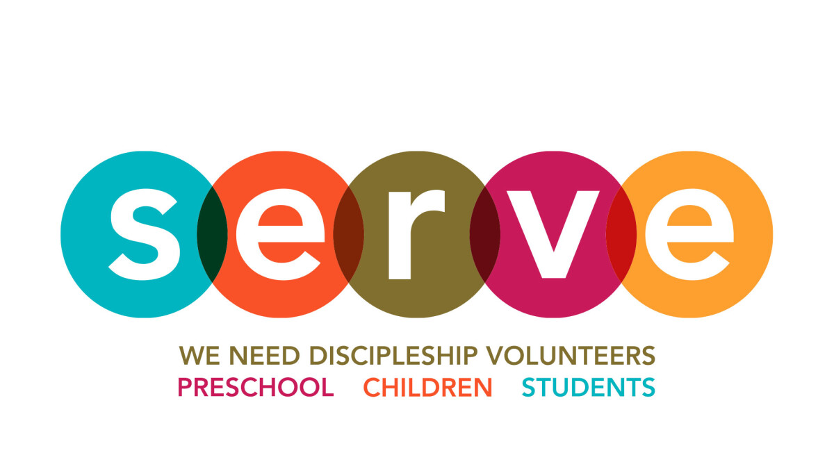 Discipleship Volunteers Needed