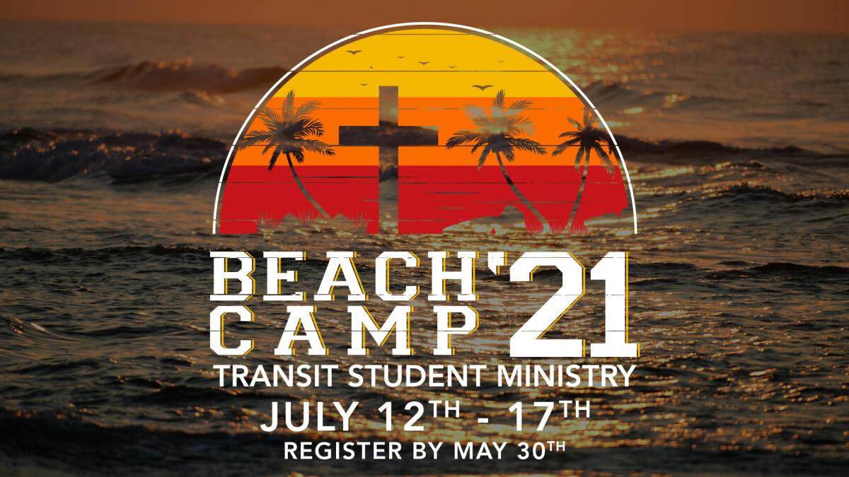 Transit MS Beach Camp Registration
